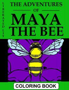 maya the bee coloring book